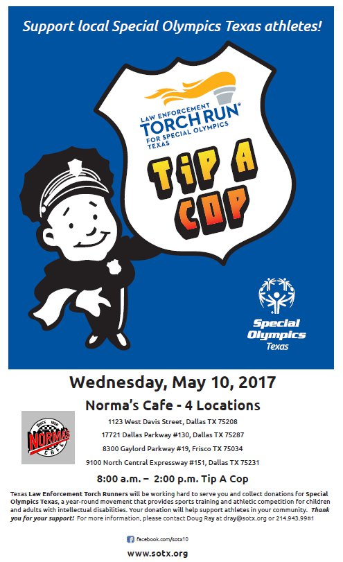 Frisco Events - Tip-A-Cop