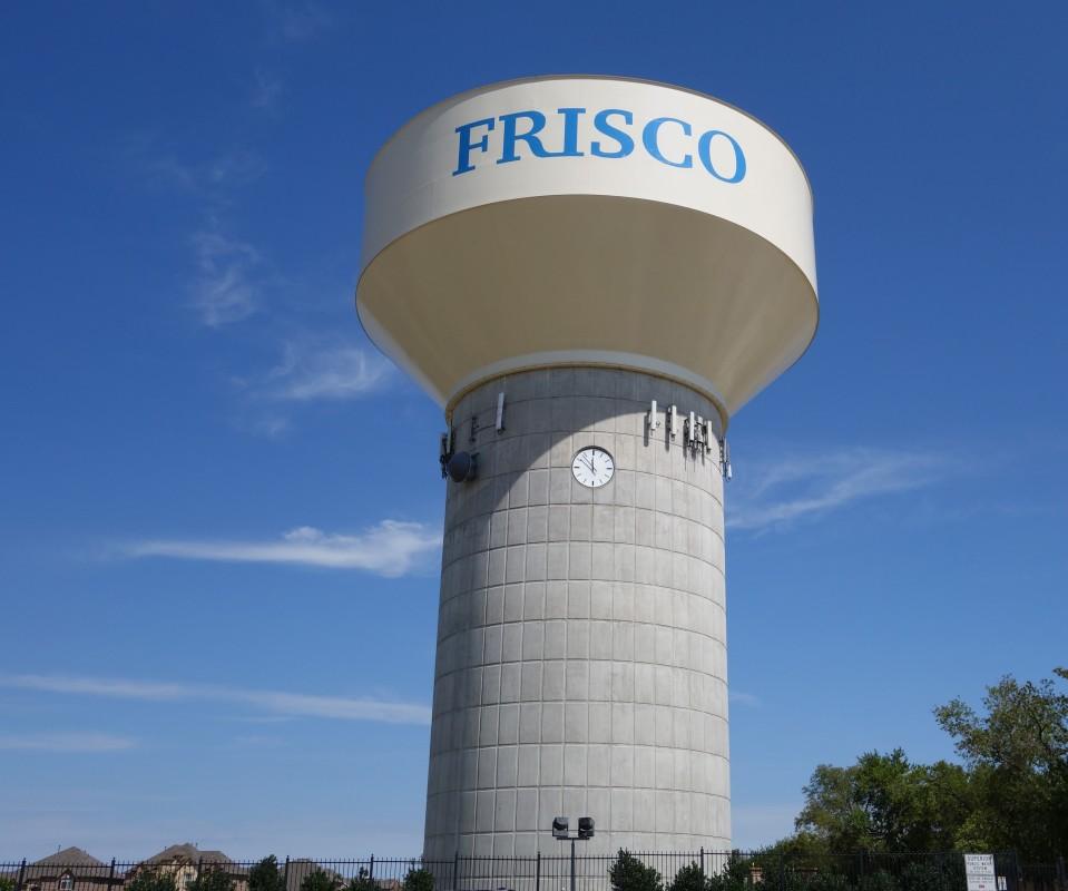Frisco Water Tower Photos Tx