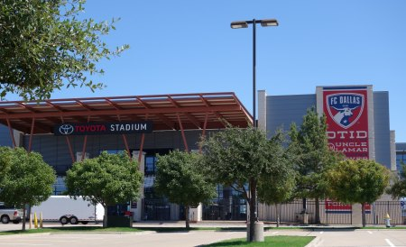 Toyota Stadium in Frisco