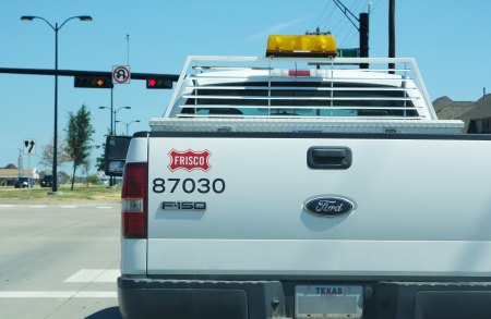 Truck with Frisco Logo