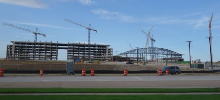 The Star in Frisco - Under Construct...